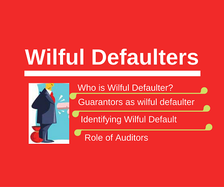 Wilful Defaulters – RBI guidelines